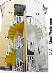 Peranakan House Staircase 3 - Historic Peranakan House...