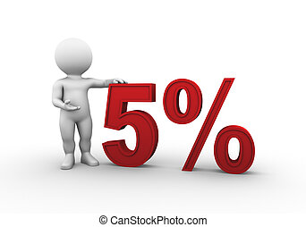 percent 5 - Bobby Series - Bobby is presenting a discount...