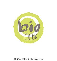 Percent Bio Food Label Design