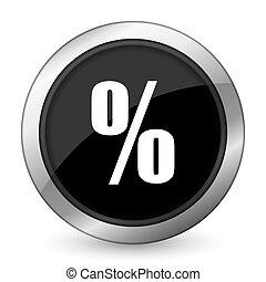 percent black icon