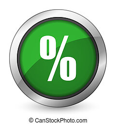 percent green icon