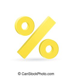 Percent sign, neutral rate