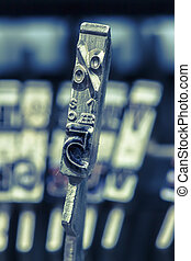 percent signs - the key for percent. iconic photo for...