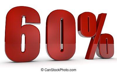 percent,60