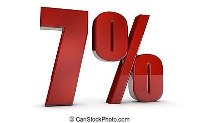 percent,7