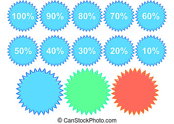 Percentage Badges