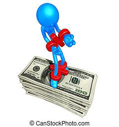 Percentage Prisoner On Money - A Concept And Presentation...