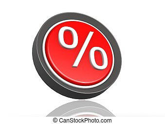 Percentage round icon