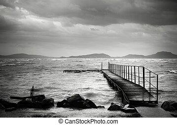 percorso legno, depressione, laghi
