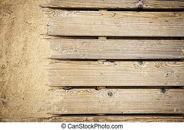 percorso legno, struttura
