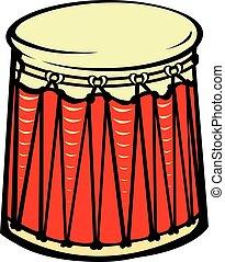 Percussion drum instrument.