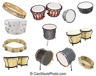 percussion instruments - Different kinds of percussion...
