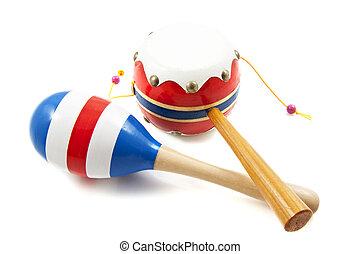 Percussion samba instrument - Percussion instrument and...