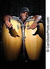 percussionist, kubanka