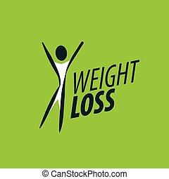 perda, peso, logotipo