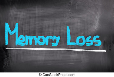 perdita, concetto, memoria