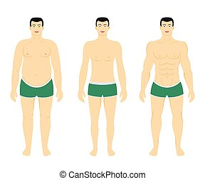 perdita, secondo, dieta, peso, prima