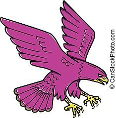 peregrine-falcon-swooping-mline