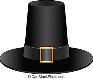 peregrino, sombrero