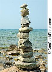 Perfect Balance - Balance Rocks - Cairns - Rock piles found...