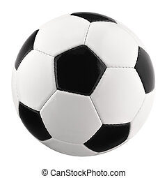 Perfect football isolated