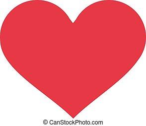 Perfect heart icon