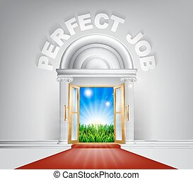 Perfect Job Door Concept