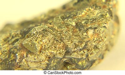 (Perfect Loop) Iron Ore Pyrite - This iron ore pyrite of...