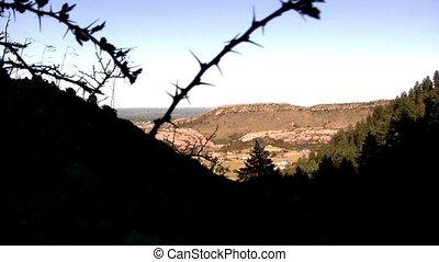 (Perfect Loop) Thorny Peak Mountain - A peek through the...