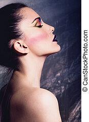 perfect makeup woman
