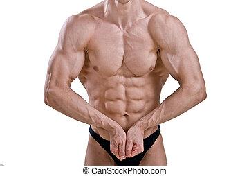 Perfect male body