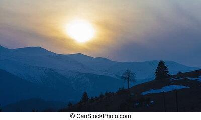 Perfect Mountain Landscape Dawn Tim