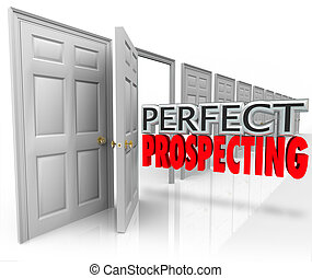 Perfect Prospecting Practicing Sales Techniques Opening Customer