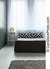Perfect sleeping spot - Shot of a modern minimalistic...