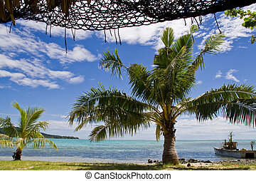 perfect vacation - Holiday Island in Samoa