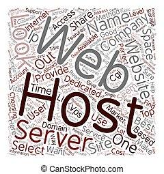perfect, web, concept, tekst, gastheer, hoe, wordcloud, achtergrond, selekteer