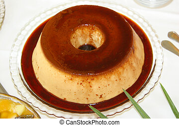 perfect whole flan pudding