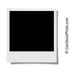 Polaroid - Perfectly rectangular Polaroid with shadow