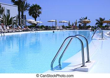 perfecto, piscina