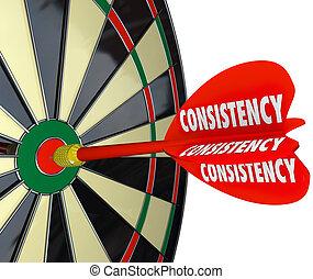 perfeitos, confiança, dardo, contagem, seguro, tábua, consistência
