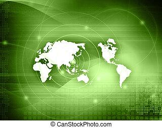 perfeitos, mapa, estilo, espaço, texto, imagem, -, fundo, mundo, tecnologia, ou
