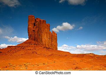 perfeitos, quadro, arizona, vale, monumento