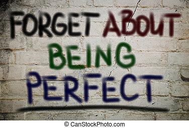perfekt, begreb