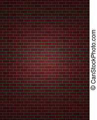 perfekt, mur, mursten