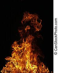 perfetto, fuoco