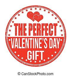 perfetto, valentines, sta, regalo, giorno