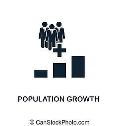 perfetto, web, popolazione, icone, collection., software, stampa, pixel, elemento, apps, crescita, disegno, uso, icon., creativo, disegno, icona