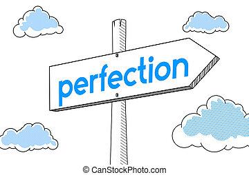 perfezione, -, signpost