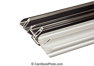 perfil, aluminio