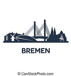 perfil de ciudad, bremen